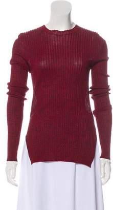 Celine Rib Knit Crew Neck Sweater w/ Tags