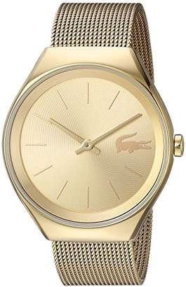 Lacoste Women's 'Valencia' Quartz and Stainless Steel Watch