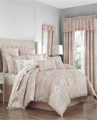 Sloane Royal Court Blush Queen Comforter Set Bedding