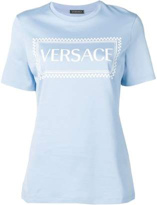 0a7d99d00d71 Versace Blue Women s Tops - ShopStyle