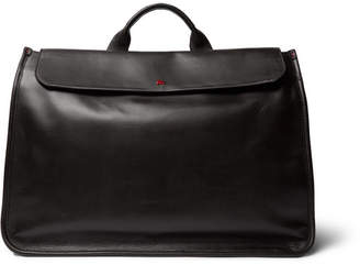 Isaia Leather Holdall