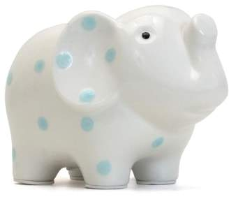 Child to Cherish Polka Dot Elephant Bank