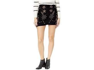 Free People Bright Lights Mini Skirt