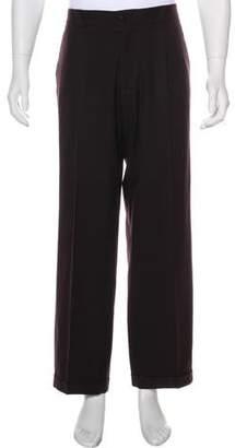 Gianni Versace Cuffed Dress Pants
