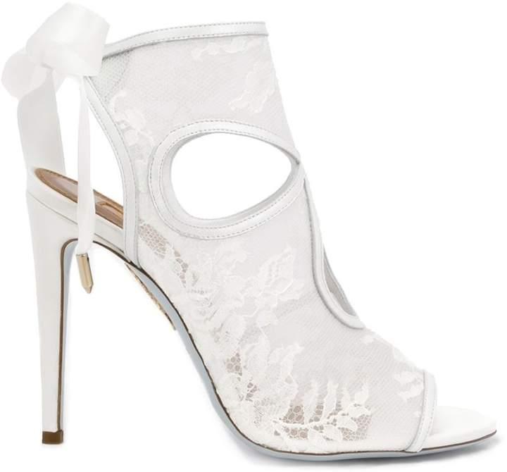 Aquazzura Sexy Thing bridal sandals