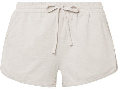 We/Me - The Zen Stretch-jersey Shorts - Beige