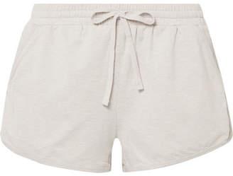 BEIGE We/Me - The Zen Stretch-jersey Shorts