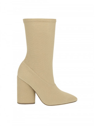 Yeezy DOLLAR CANVAS ANKLE BOOT $595 thestylecure.com