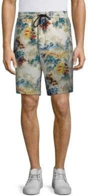 Diesel Noten Floral-Print Shorts