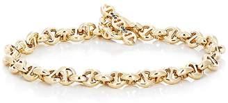 HOORSENBUHS Men's Tri-Link Chain Bracelet