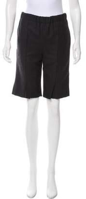 Marni Wool Knee-Length Shorts