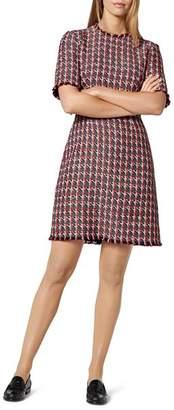 LK Bennett Danna Checked Sheath Dress