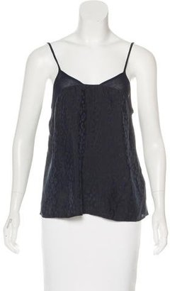 Thakoon Addition Sleeveless Brocade Top