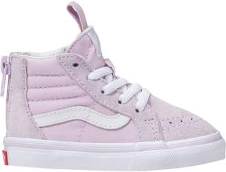 69dbc23321e Vans SK8-Hi Zip Skate Shoe - Toddler Girls