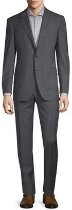 Canali Wool Pinstripe Suit
