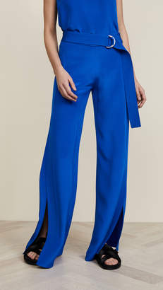 ADAM by Adam Lippes Silk Crepe Wide Leg Pants