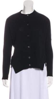 Marni Wool Button-Up Cardigan Black Wool Button-Up Cardigan