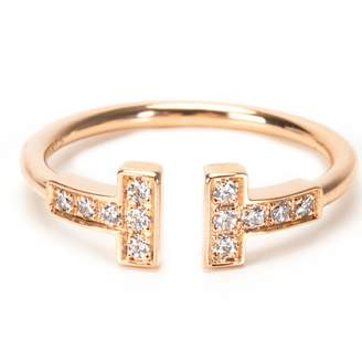 Tiffany & Co. T pink gold ring