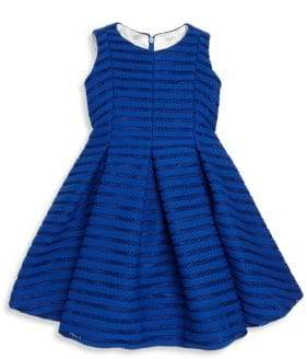 Helena and Harry Toddler's, Little Girl's,& Girl's Shadow Striped Dress