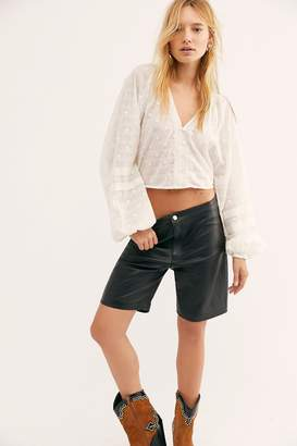 45d563781889 Understated Leather Hailey Leather Bike Shorts