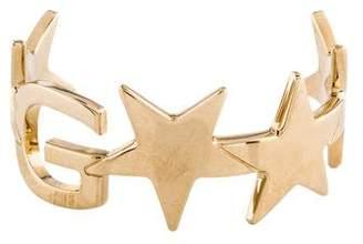 Givenchy Logo & Star Cuff