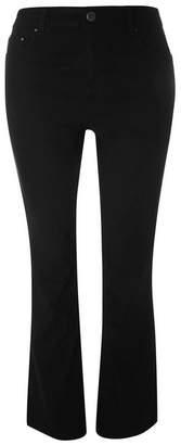 Evans Black Bootcut Jeans