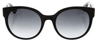 Gucci Gradient Oversize Sunglasses w/ Tags