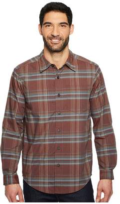 Exofficio Kensington Plaid Long Sleeve Shirt Men's Long Sleeve Button Up