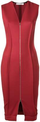 Victoria Beckham zipped front dress