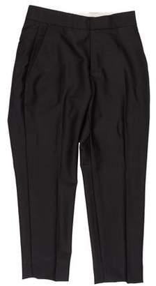 Alexander McQueen Wool & Mohair Dress Pants