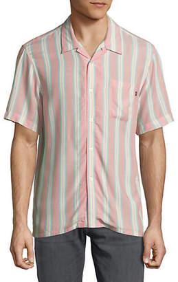 Obey Striped York Woven Sport Shirt