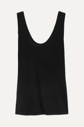The Row Thomaston Jersey Tank - Black