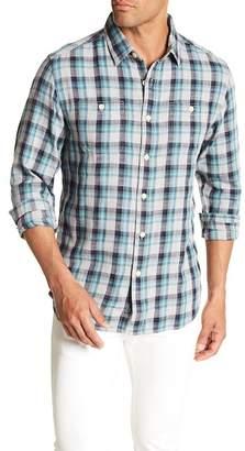 Grayers Trevor Long Sleeve Plaid Print Regular Fit Woven Shirt