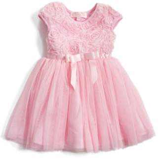 Popatu Short Sleeve Tulle Dress