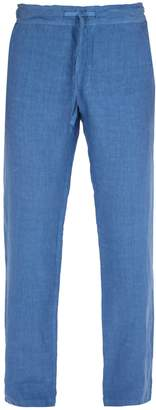 120% Lino 120 LINO Mid-rise linen trousers