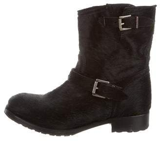 Penelope Chilvers Ponyhair Ankle Boots