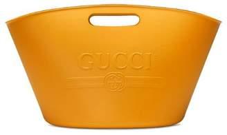 Gucci logo top handle bag
