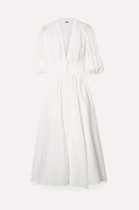 194fa91e762 Cult Gaia Willow Seersucker Maxi Dress - White
