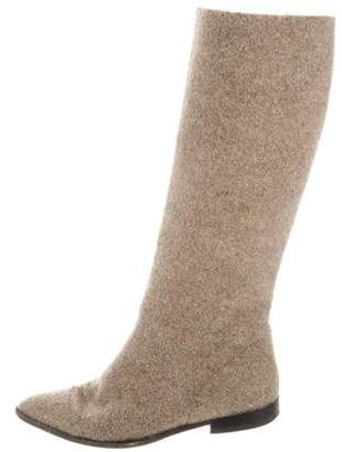 Walter Steiger Pointed-Toe Knee-High Boots