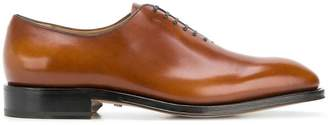 Salvatore Ferragamo plain-toe Oxford shoes