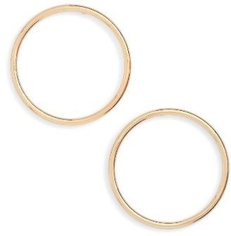 Women's Bp. Frontal Hoop Earrings $12 thestylecure.com