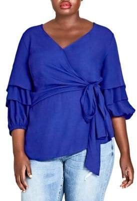 City Chic Plus Desire Blouse