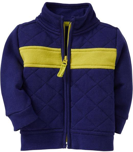 Old Navy Color-Blocked Quilted Zip-Front Jackets for Baby