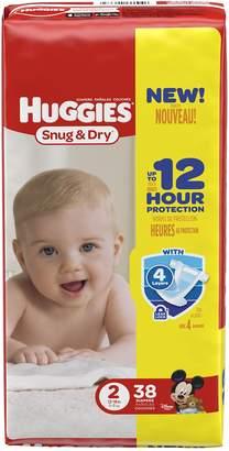Huggies Diapers Snug & Dry Disney Size 2 (12 - 18 lb) - 38 CT