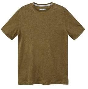Mango Man MANGO MAN Slub linen-blend T-shirt