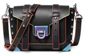 MICHAEL Michael Kors Small Manhattan Leather Messenger Bag