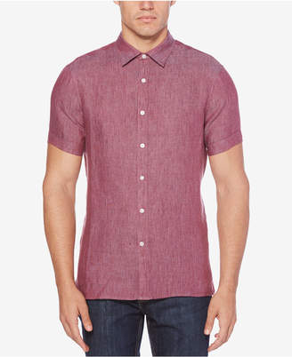 Perry Ellis Men Button-Front Shirt