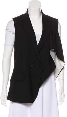 Theory Notch-Lapel Wool Vest