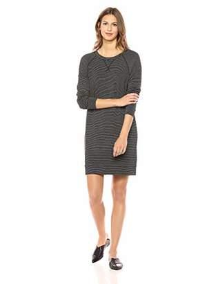 Daily Ritual Women's Supersoft Terry Long-Sleeve Raglan Sweatshirt Dress