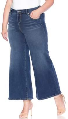 SLINK Jeans SLINK High Waist Wide Leg Crop Jeans